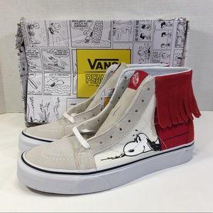 Vans Sk8-Mi MOC Peanuts Dog House Snoopy Shoes
